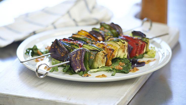 Salsa Veggie Skewers