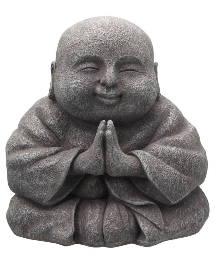 Fat happy Buddha (his face could be cuter)