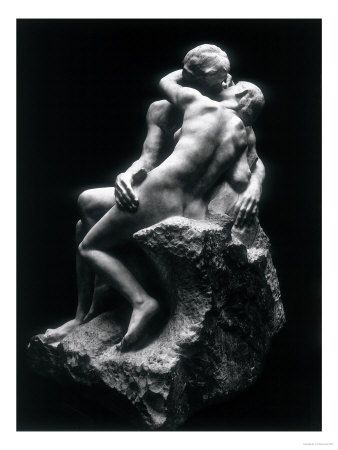 I remember the first time I stood in front of this. It took my breath away. The Kiss, Rodin