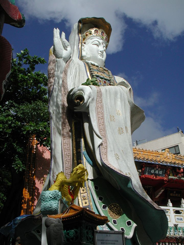 Buddha - Holiday to Hong Kong, Macau & Guangzhou, China. Photos by Tamara Desiatov 2007-07.