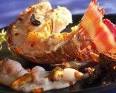 Gratin de langoustes aux morilles et aux truffes Ingrédients