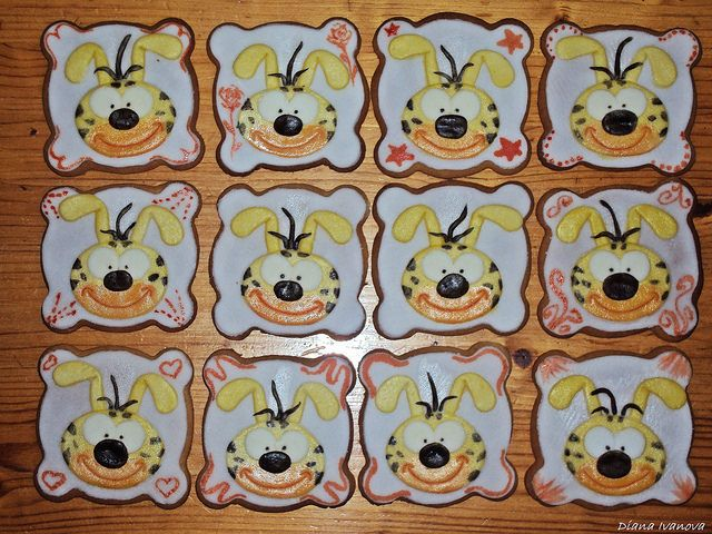 Marsupilami cookies