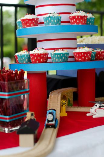 "Photo 6 of 10: Thomas the Train / Birthday ""Isaiah's Choo Choo Train Party"" 