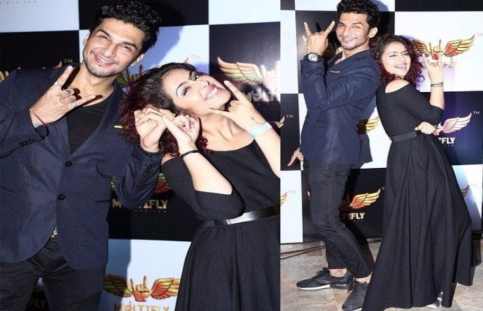 #AvikaGor and Alleged BF #ManishRasinghan Spotted Chilling in a Party