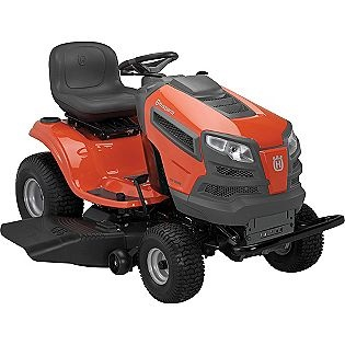 Husqvarna riding lawn mower..  this is an awesome mower.  weve got a few products by this brand and theyve never let us down