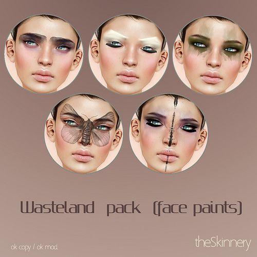 Cool facepaints