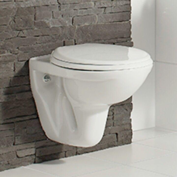 Toilet het kleinste kamertje pinterest toilets - Tegel voor toilet ...