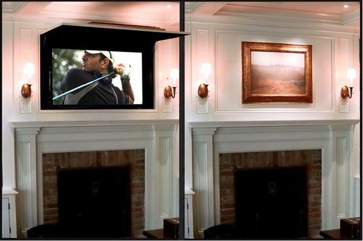 Le Club Déco' zeuses d'Art: Comment cacher cet horrible Téléviseur ?