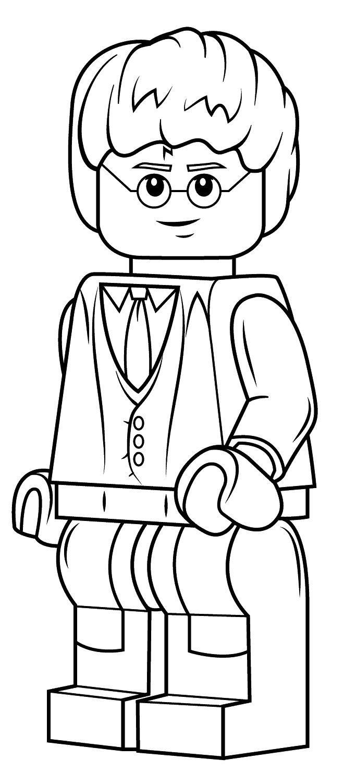 Ausmalbilder Lego Harry Potter e7 - Ausmalbilder Harry