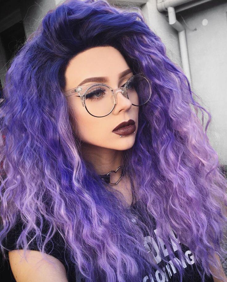 light purple hair - 736×914
