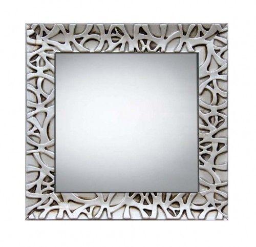 espejos de madera modelo algeciras espejo con marco de madera natural disponible en dos colores