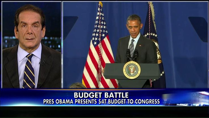 Krauthammer: Obama's $4T Budget Plan 'Not a Real Document'