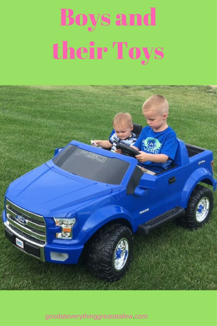 The things that we buy for our kids never cease to amaze me. We have two boys, ages 5 and 17 months and they are very, very active. My husband and I decided that we needed more reason to worry, so we bought them an F-150 Fisher Price Power Wheels. This thing is too cute, ... [Read more...]
