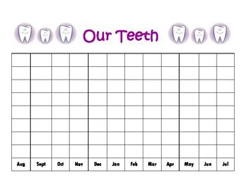 I give this to each child to include in his/her calendar binder.  We switch out the monthly calendar pages.  However, we keep the Birthday Graph and Our Teeth Graph in the binders all year.Thanks!Kel's Kindergarten