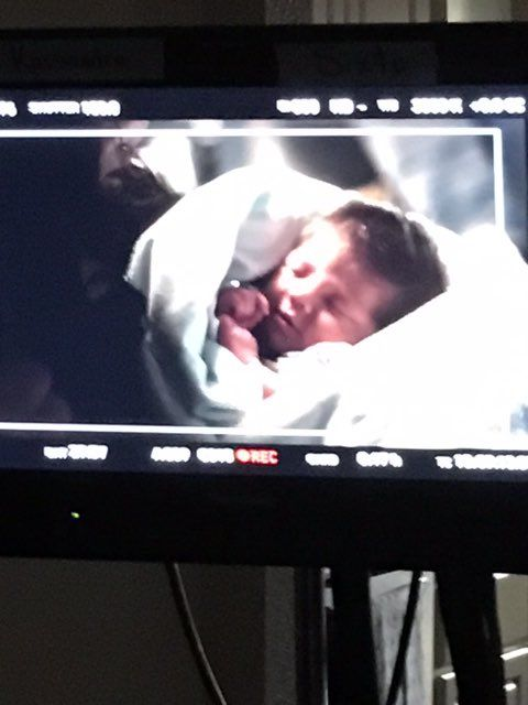 A #behindthescenes look at probably are most precious and definitely youngest talent for TXU energy! 👶🏻 #cluttsbabies