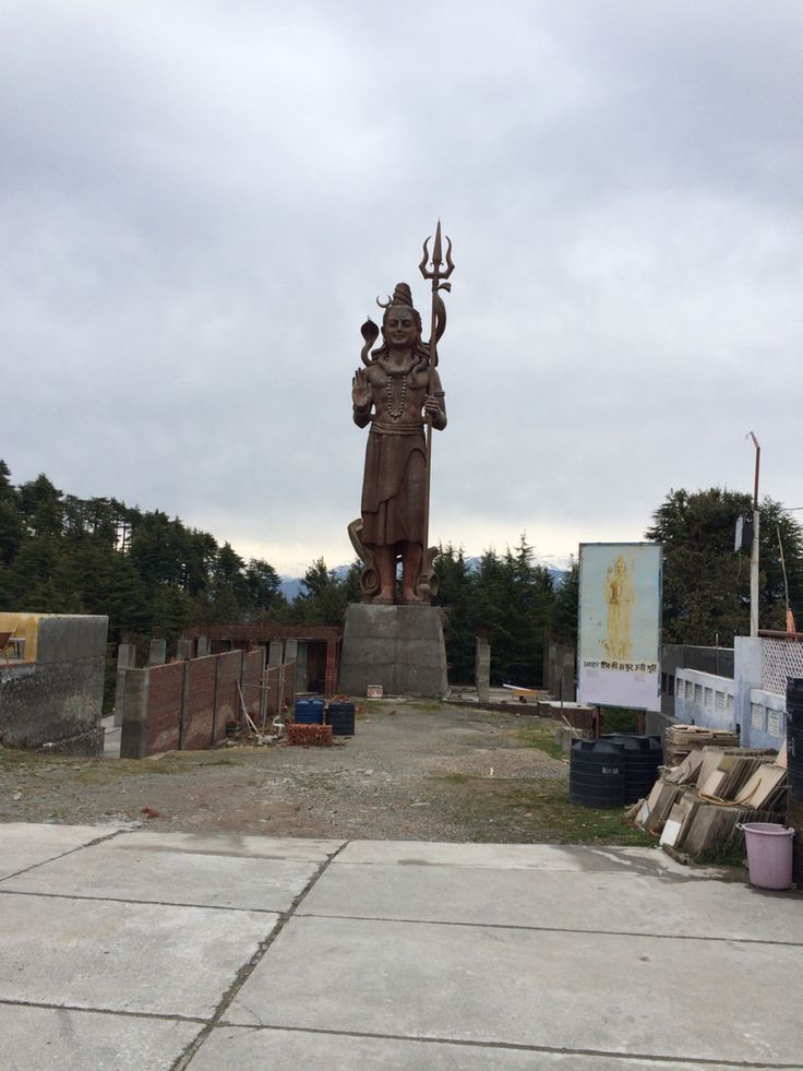 81 feet high shiva idol, Chamba