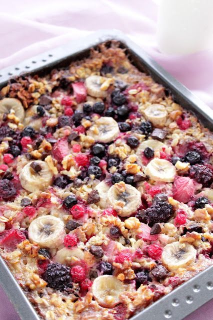 Rezepte mit Herz: Baked Oatmeal ♡