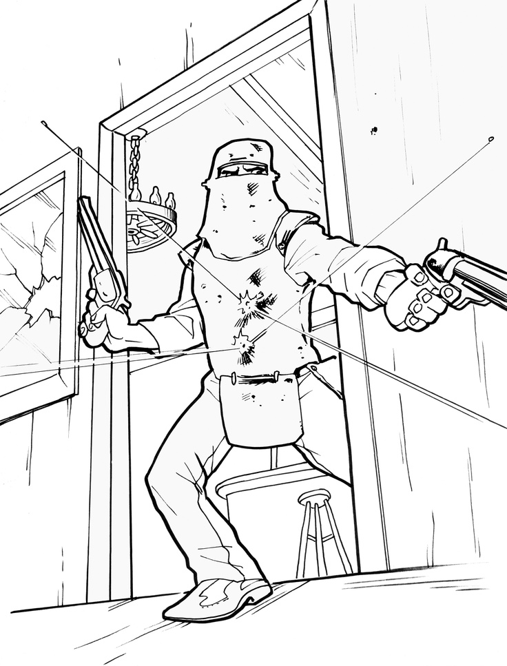 ned kelly coloring pages - photo#2