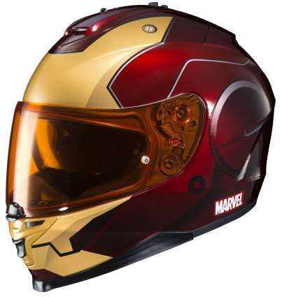 Marvel Comics Iron Man Collectibles and Gift Ideas - Iron Man Motorcycle Helmet - DigitalEntertainmentReview.com