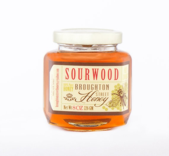 Sourwood Honey by BroughtonStreetHoney on Etsy, $8.00