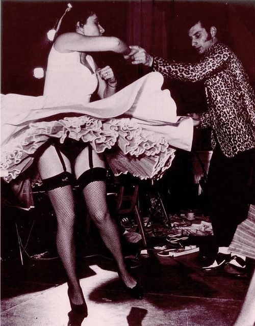 Rockabilly dancers in Malaga in the 50s. It was truly international.