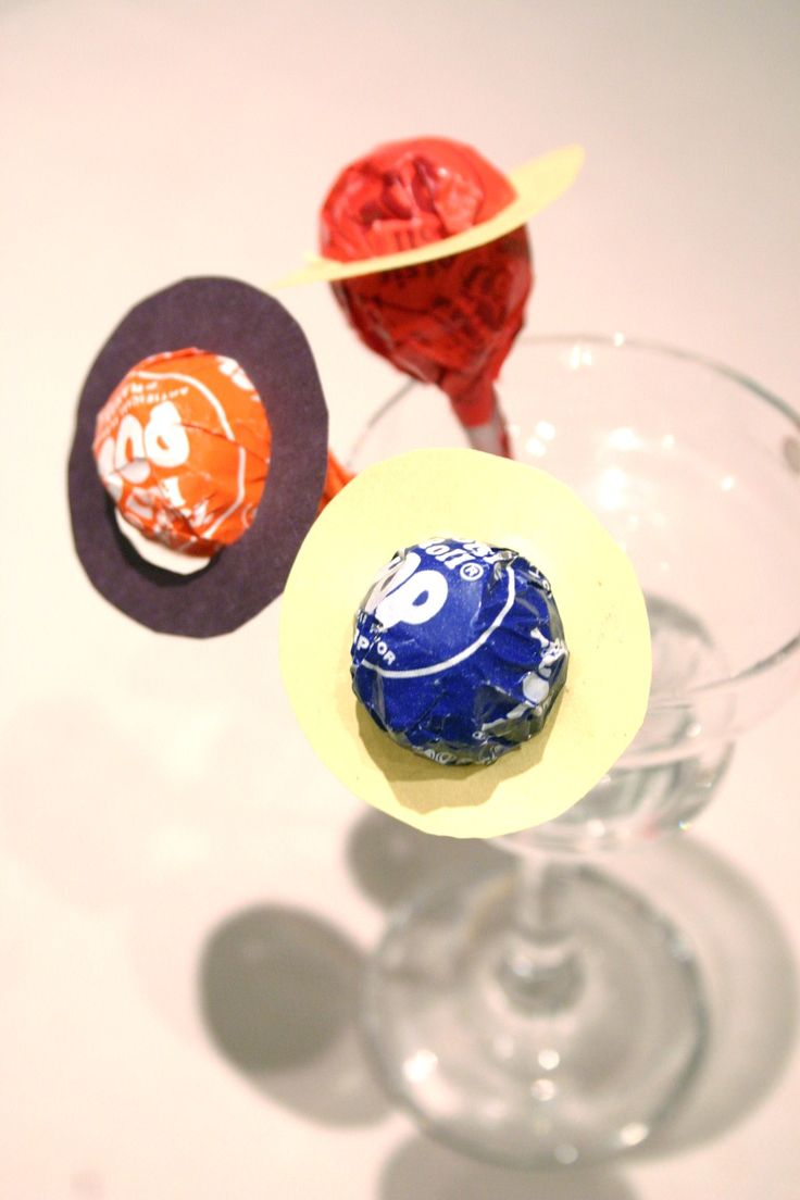 Planet lollipops to go with The Space Party of Tales Come Alive children's parties, Inc.