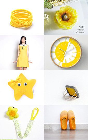 Lovely yellow by Roberta on Etsy--Pinned with TreasuryPin.com