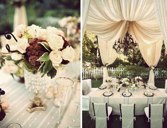 #Classic #white table setting