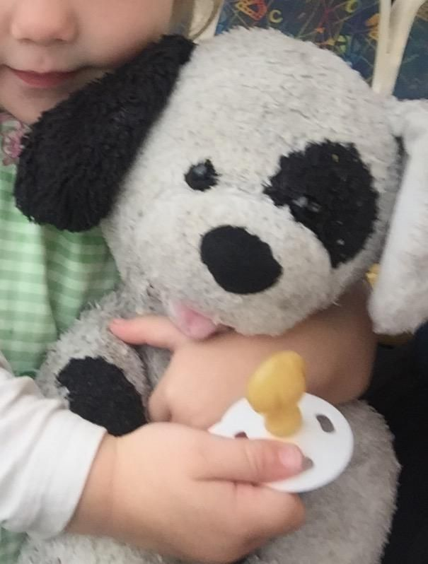 Lost on 09 Jul. 2016 @ Flinders street Melbourne . Build a bear teddy dog. Black and white. His name is patch. Visit: https://whiteboomerang.com/lostteddy/msg/6vfuil (Posted by Tracy on 09 Jul. 2016)