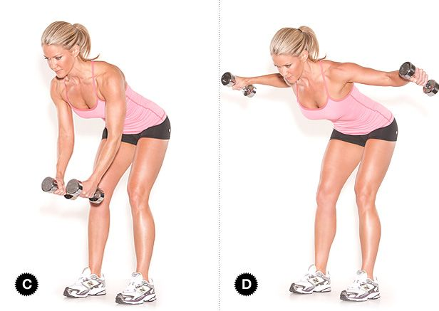 Two-in-One Toning Target Muscles: latissimus dorsi ...