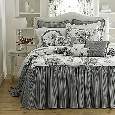 Layers and layers are sort of the hallmark of most beautiful beds.   We layer the coverlets and duvet covers over bedskirts and top them wit...