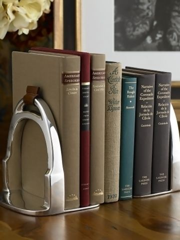 Derbyshire Stirrup Bookends - Ralph Lauren Home Decorative Accessories - RalphLauren.com