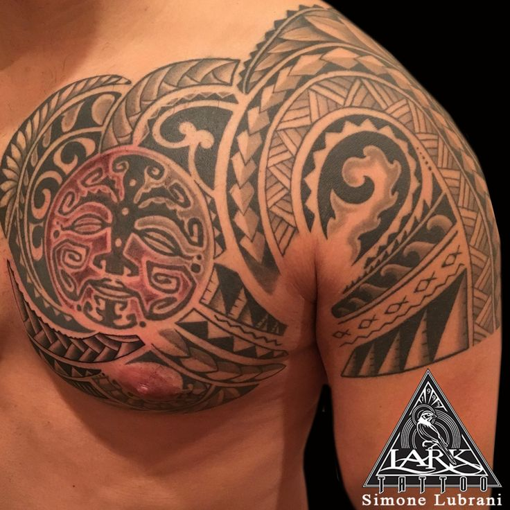 Tattoo by Lark Tattoo artist Simone Lubrani. More of Simone's work: https://www.larktattoo.com/long-island-team-homepage/simone-lubrani/  #Polynesian #Polynesiantattoo #tribal #tribaltattoo #chesttattoo #blacktattoo #tattoo #tattoos #tat #tats #tatts #tatted #tattedup #tattoist #tattooed #inked #inkedup #ink #tattoooftheday #amazingink #bodyart #tattooig #tattoosofinstagram #instatats  #larktattoo #larktattoos #larktattoowestbury #westbury #longisland #NY #NewYork #usa #art