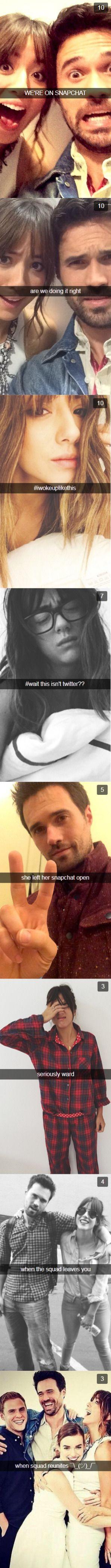 SkyeWard+ Snapchat= CUTENESS