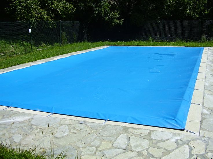 Tendal de PVC per cobrir piscina