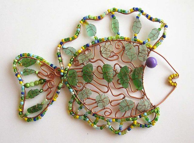 lovely unusual beading ideas on this site