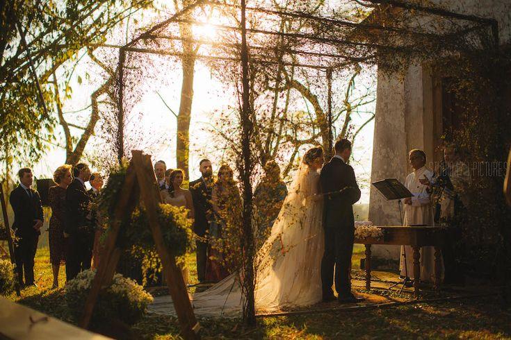 Casamento vintage na fazenda : Flávia + Kyle - Berries and Love