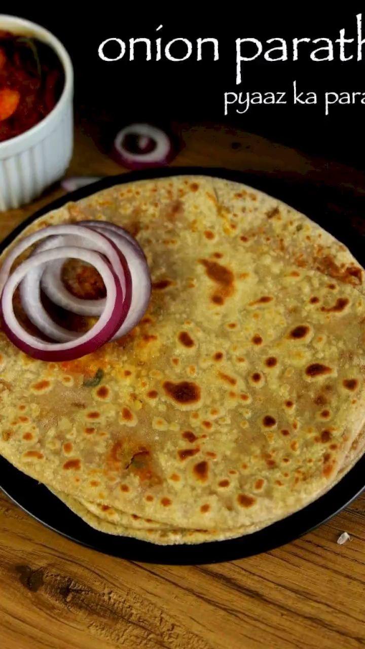 onion paratha recipe   pyaz ka paratha recipe   pyaaz paratha