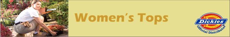 Dickies Women's Tops   Minnesota Workwear