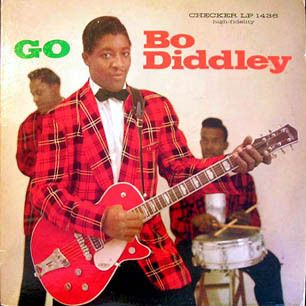 "Bo Diddley/Go Bo Diddley, Bo Diddley - Diddley's influence on rock & roll is inestimable, from the off-kilter rhythmic thump of ""Pretty Thing"" to his revved-up take on singing the blues. This album — a repackaging of his first two records — has nearly all of his important singles, including ""I'm a Man"" and ""Who Do You Love?"""