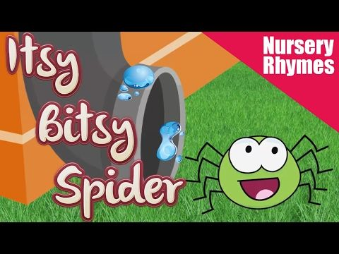 Itsy Bitsy Spider Song - Nursery Rhyme Singing Time - For Children, Kids, Toddlers - YouTube