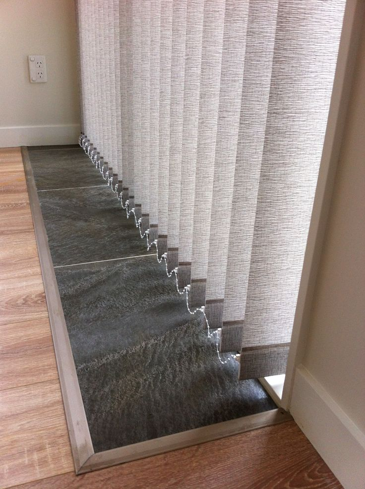 Choose weights & chains or chainless sewn in weights for along the bottom of your vertical blinds – get a quote for your blind requirements at blindsonline.net.nz