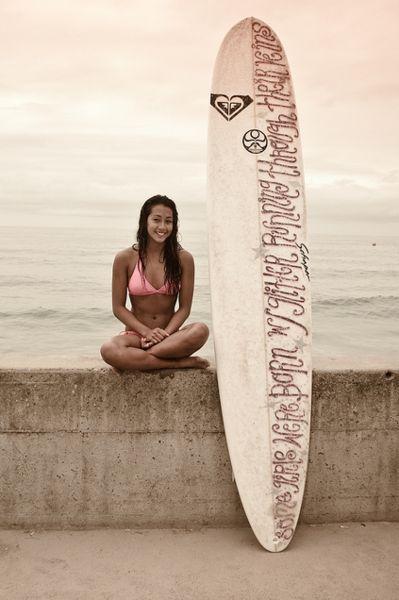 Roxy Surfer Girl - some girls were born with glitter running through their veins