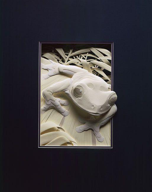 calvin nicholls esculturas de papel