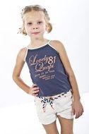Mila-Wit Mooie korte witte broek van Quapi Kidswear www.lotenlynn.nl Zomer collectie 2014