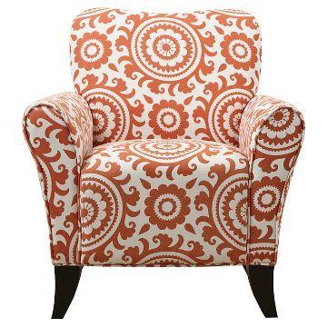Sean Arm Chair - Orange Medallion - Handy Living
