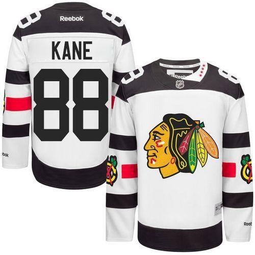 Patrick Kane White 2016 Stadium Series Stitched NHL Jersey