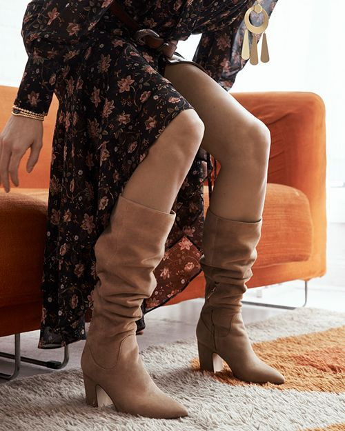 8df2439e73e Sam Edelman - Women s Hai Suede Tall Boots - 100% Exclusive ...