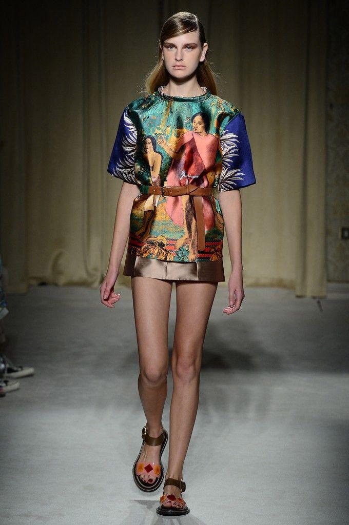 Milan Fashion Week Spring 2014: The Looks We Love  - Aquilano Rimondi Spring 2014