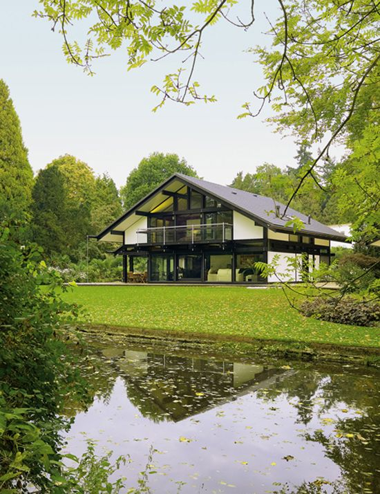 Huf Haus: flat pack German perfection hopefully built on a hill overlooking some superb British countryside